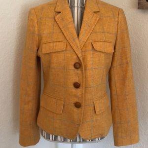 J. Crew wool blazer.